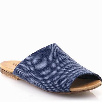 נעלי נשים גויה כפכף יפני כחול