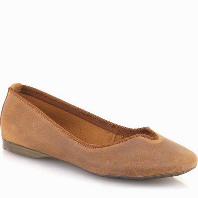 נעלי נשים גויה בובה חום דיזל