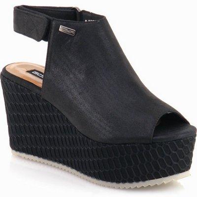 נעלי נשים גויה סנדל רוקי מהמם שחור