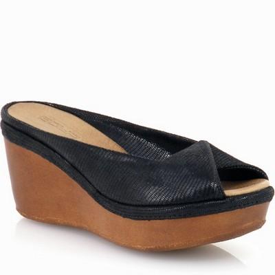 נעלי נשים גויה כפכף רוקי עוצב סופר נוח שחור