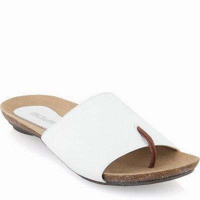 נעלי נשים כפכף אצבע סופר נוח לבן