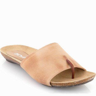 נעלי נשים כפכף אצבע סופר נוח קאמל