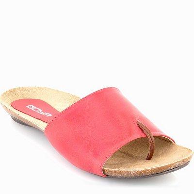 נעלי נשים כפכף אצבע סופר נוח אדום