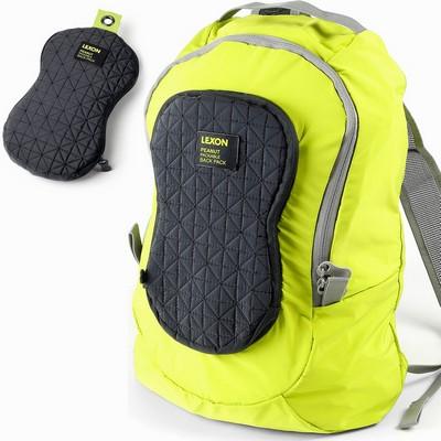 תיק גב קל במיוחד מתקפל לנרתיק לקסון אפור ירוק