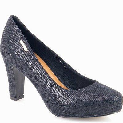 נעלי נשים גויה נעל עקב סטילטו שחור