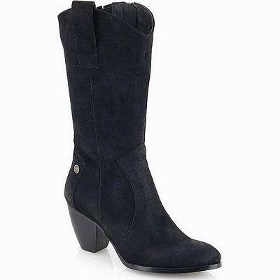 מגפיים לנשים גויה מגף בוקרים שחור