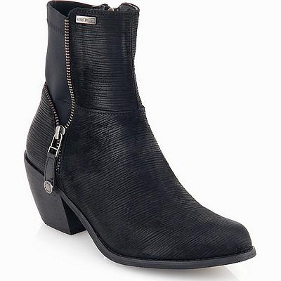 מגפיים לנשים גויה מגפון פסים שחור