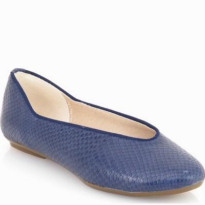 נעלי נשים גויה בובה יפני כחול