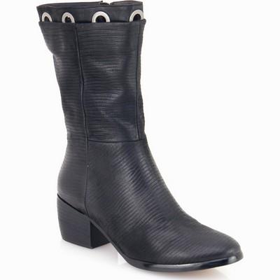 מגפיים לנשים גויה מגף טבעות שחור