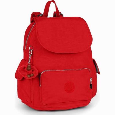תיקים קיפלינג לגב תיק קיפלינג סיטי פאק קטן אדום