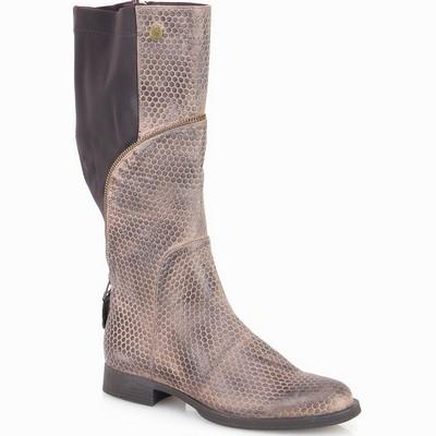 מגפיים לנשים מגף גויה מנוקד חאקי