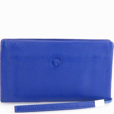 ארנק גדול עמנואל עדן נאפה כחול רוייל