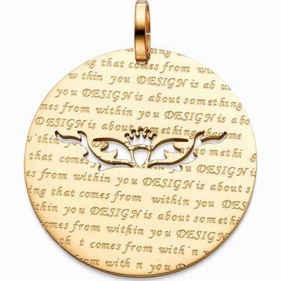 תליון סשה מדליון זהב