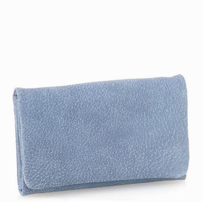 ארנקים לנשים נטע שדה ארנק אקורדיון בינוני כחול ג'ינס