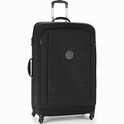 מזוודה חזקה מעוצבת קיפלינג סופר הייבריד גדולה שחור פסים