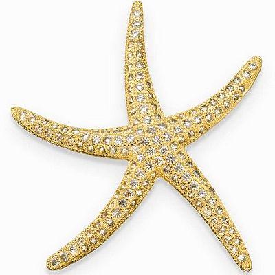 תליון סשה כוכב ים זהב