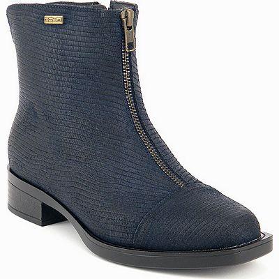 נעלי נשים גויה מגפון פסים כחול נייבי