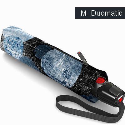 מטריות קנירפס מטרייה בינונית פתיחה וסגירה אוטומטית בועות כחול