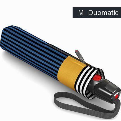 מטריות קנירפס מטרייה בינונית פתיחה וסגירה אוטומטית מדיה כחול