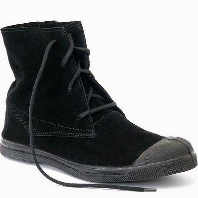 נעלי נשים בנסימון מגפון זמש דקוטה שחור