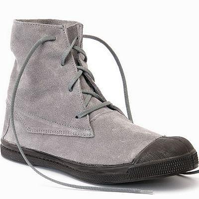 נעלי נשים בנסימון מגפון זמש דקוטה אפור