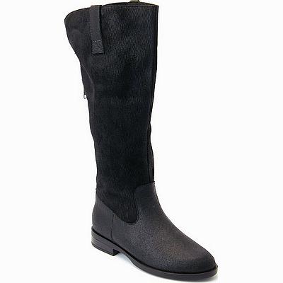 מגפיים לנשים גויה מגף פסים שחור