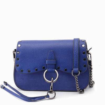 תיקים לנשים ריבקה מינקוף תיק אלכסוני קטן כחול