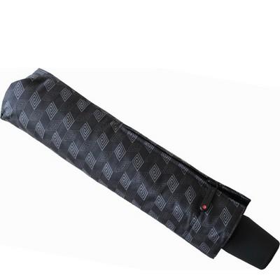 מטריות - קנירפס מטרייה קומפקטית פתיחה וסגירה אוטומטית אפור פרינט
