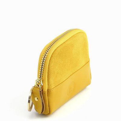 נרתיק מחזיק מפתחות עמנואל צהוב