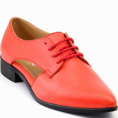 נעל נשים אלגנטית מעוצבת אדום