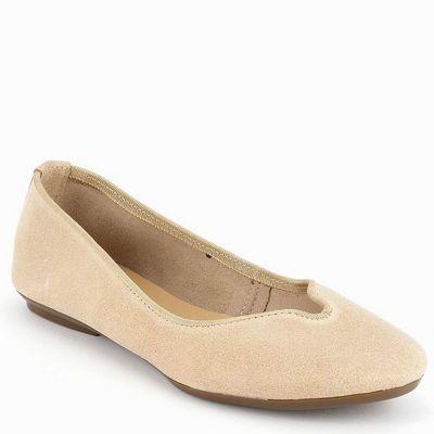 נעלי בובה גויה נטורל חול