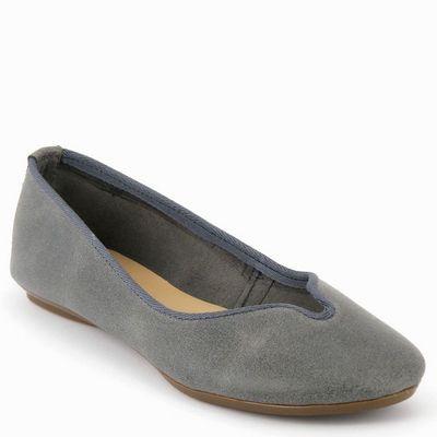 נעלי בובה גויה נטורל אפור