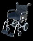 כיסא העברה מאלומיניום עם ידית קצרה