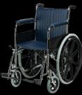 כסא גלגלים מוסדי קבוע קבוע MS002