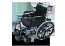 כיסא גלגלים ממונע חשמלי מתקפל עם גלגלי ספורט וסוללות ליתיום 9606D דלוקס