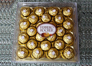 Large Ferrero Rouche chocolate