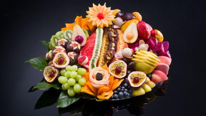 מגש פירות-קסם הצבעים L