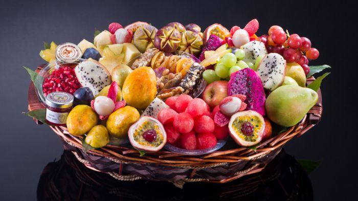 סלסלת פירות - קסם מפנק