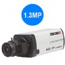 מצלמת גוף IP רזולוציה 1.3Mega-Pixel כולל ONVIF,BLC,HLC,WDR,PoE