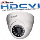 """מצלמת כיפה אינפרה HDCVI רזולוציה 2MP/1080P  עדשה 3.6 מ""""מ תוצרת dahua"""
