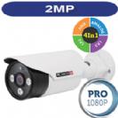 """מצלמת צינור אינפרה  1080P/2M סדרה Pro עדשה 3.6 מ""""מ 4in1 תוצרת Provision"""