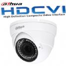 """מצלמת כיפה אינפרה HDCVI רזולוציה 2MP/1080P עדשה משתנה 2.7-12 מ""""מ תוצרת dahua"""