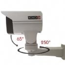 """מצלמה צינור ממונעת 1080P/2MP אינפרא עוצמתי בלתי נראה מרחק הארה 50 מטר, זום חשמלי כפול 10 עדשה 5-50 מ""""מ"""
