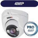 """מצלמת כיפה אינפרה 4MP סדרה Pro עדשה 3.6 מ""""מ תוצרת Provision"""