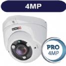 """מצלמת אבטחה כיפה אינפרה 4M סדרה Pro עדשה משתנה 2.8-12 מ""""מ תוצרת Provision"""