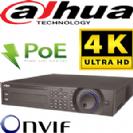 מערכת הקלטה NVR ל 32 מצלמות אבטחה רזולוציה 4K קצב 256Mbps דיסק 4Tb