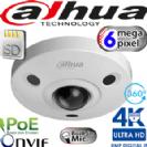 """מצלמת כיפה עין הדג אינפרא מצלמת 360 מעלות רזולוציה 4K 6MP עדשה 1.18 מ""""מ תמיכה בכרטיס זיכרון"""