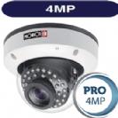 """מצלמת כיפה אינפרה אנטי וונדל 4MP סדרה Pro עדשה משתנה 2.8-12 מ""""מ 4in1 תוצרת Provision"""