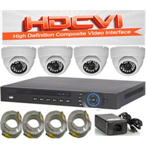 סט מצלמות אבטחה HDCVI