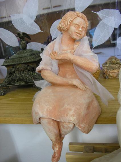 פטפטנית - נעמי ברקוביץ - פסלת